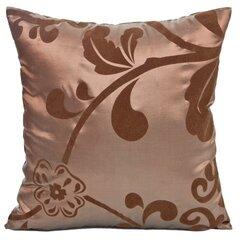 Dekoratiivne padjapüür Amber, 40x40 cm, pruun