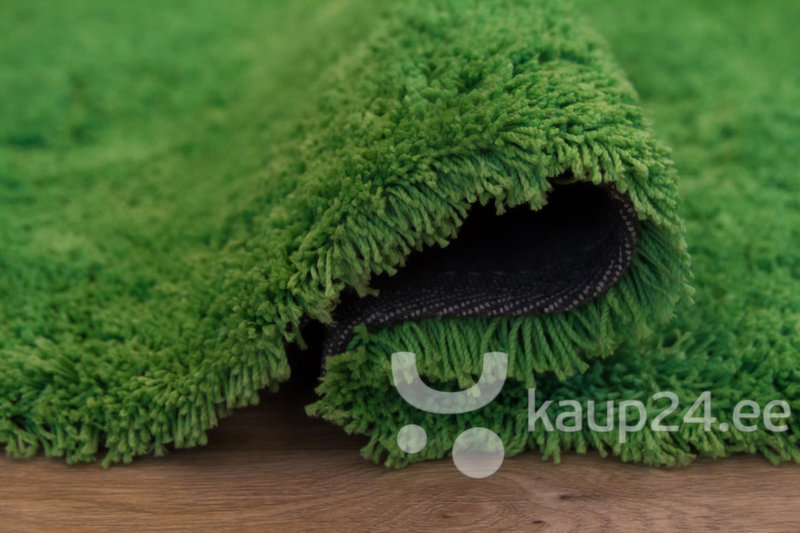 Ковер Shaggy Exclusive Pomme, зеленый