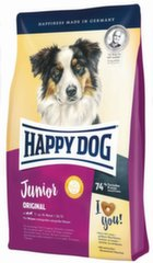 Kuivtoit Happy Dog kasvavatele kutsikatele Junior Original, 4 kg