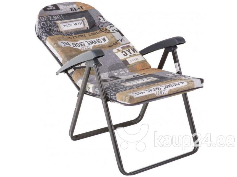 Kokkupandav tool Patio Galaxy, hall/pruun
