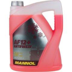 Антифриз Mannol AF12 + (Longlife) -40°C, 5 л цена и информация | Очищающие и охлаждающие жидкости | kaup24.ee