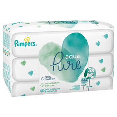 Salvrätikud PAMPERS Aqua Pure, 3 x 48 tk