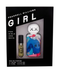 Komplekt Pharrell Williams: parfüümvesi EDP naistele/meestele 100 ml + 10 ml