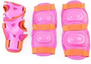 Laste turvavarustuse komplekt Spokey Aegis, roosa