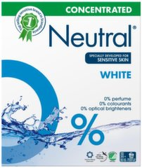 NEUTRAL pesupulber Main Wash, 28 w, 1, 3 kg