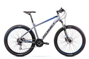 """Мужской горный велосипед Romet Rambler R7.2 27,5"""" 2019, серый/синий"""