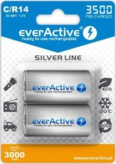EverActive Silver Line Ready to Use 3500mAh C aku, 2 tk