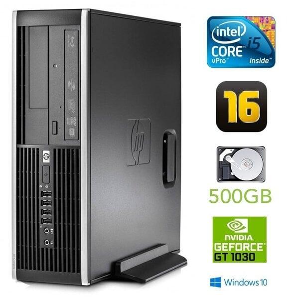 HP 8300 Elite SFF i5-3470 16GB 500GB GT1030 2GB DVDRW WIN10Pro