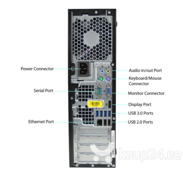 HP 8300 Elite SFF i5-3470 4GB 240SSD DVDRW WIN7Pro