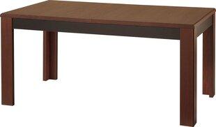 Раздвижной стол Pesaro 40, коричневый