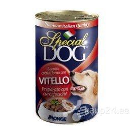 Special Dog Vitello konserv vasikalihaga koertele
