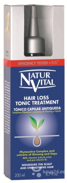 Seerum väljalangevatele juustele Natur Vital Hair Loss 200 ml цена и информация | Maskid, õlid, seerumid | kaup24.ee