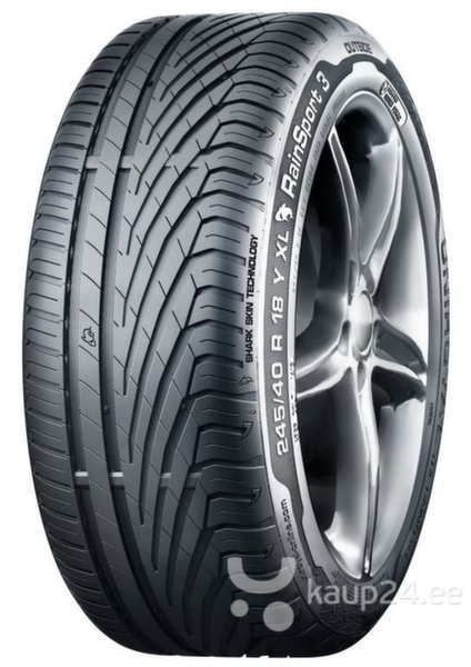 Uniroyal RAINSPORT 3 245/45R18 100 Y XL FR цена и информация | Rehvid | kaup24.ee