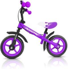 Tasakaalu jalgratas Milly Mally Dragon, lilla