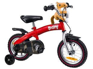 "Laste jalgratas ROYALBABY ""Pony"" punane"