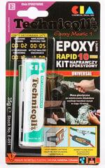 Universaalne epoksiidkitt Techniqll, E-051, 35 g цена и информация | Клей | kaup24.ee