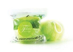 Lõhnastatud käsn NATURA AMICA roheline õuna lõhn 40g