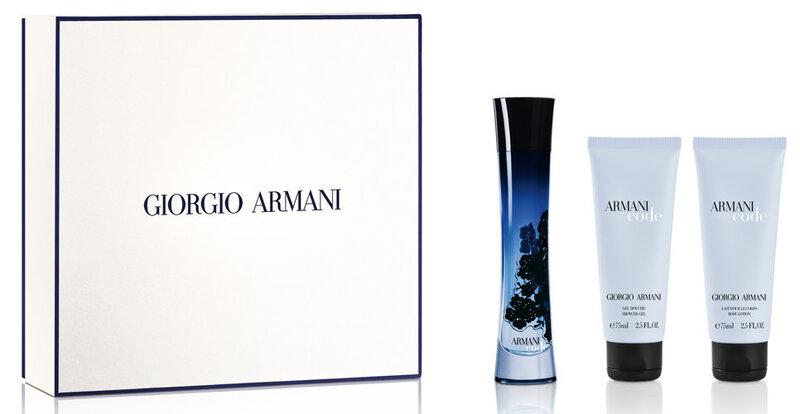 Набор Giorgio Armani Armani Code: EDP moterims 50 ml + гель для душа 75 ml + лосьон для тела 75 ml цена и информация | Naiste lõhnad | kaup24.ee