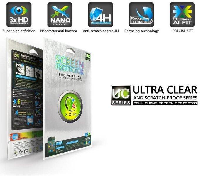 X-One Pro HD Качества Sony Xperia Z1 C9603 защитная пленка Глянцевая цена и информация   Ekraani kaitsekiled   kaup24.ee