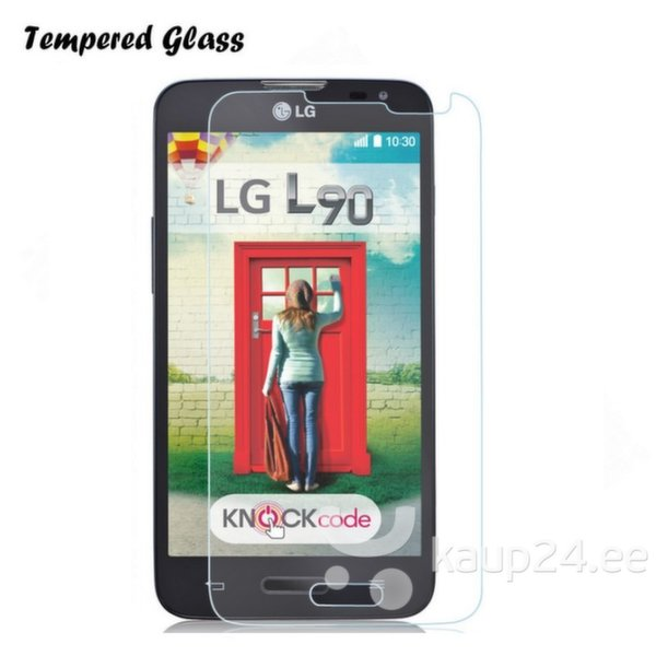 Tempered Glass Защитное бронированное слекло для экрана LG D405 Optimus L90 (EU Blister) цена и информация | Ekraani kaitsekiled | kaup24.ee