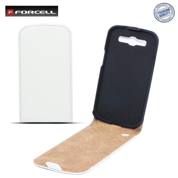 Kaitseümbris Forcell Slim Flip Case Samsung Galaxy S4 i9500, Valge hind ja info | Mobiili ümbrised, kaaned | kaup24.ee