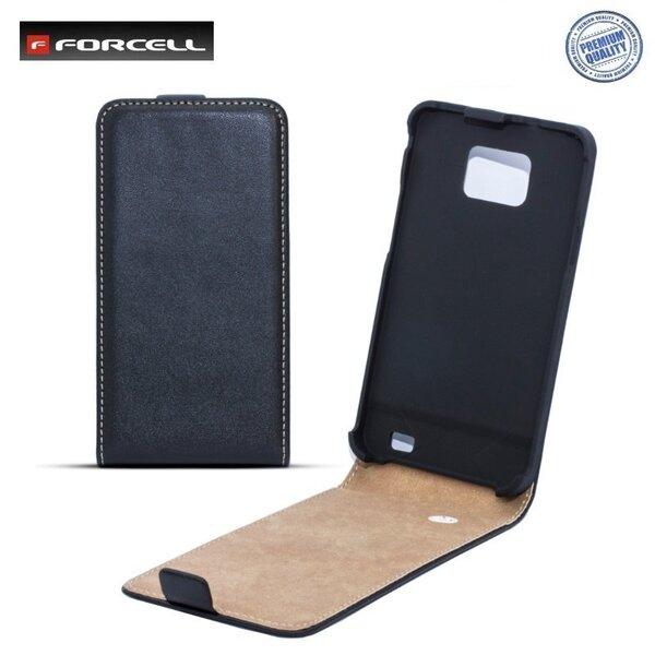 Forcell Slim Flip Case Samsung S7270 Galaxy Ace 3 вертикальный чехол-книжка Черный цена и информация | Mobiili ümbrised, kaaned | kaup24.ee