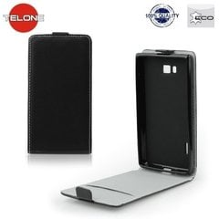 Kaitseümbris Telone Flexi Slim Flip / LG F70 (D315), Must