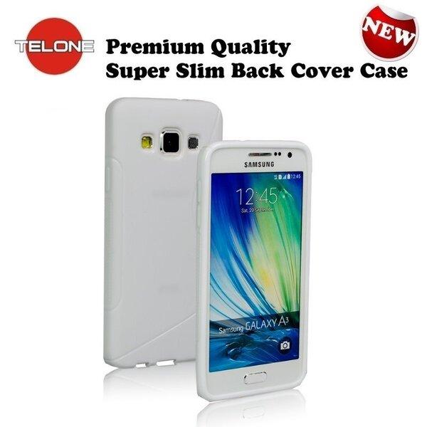 Telone Back Case S-Case силиконовый чехол Samsung A500 Galaxy A5 Белый цена и информация | Mobiili ümbrised, kaaned | kaup24.ee