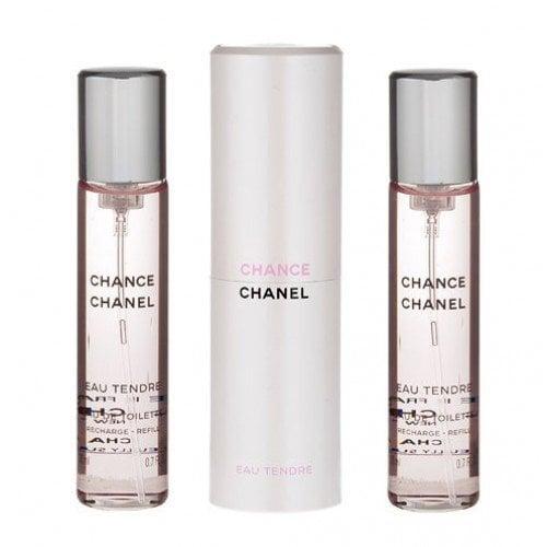 Туалетная вода Chanel Chance Eau Tendre edt 3 x 20 мл цена и информация | Naiste lõhnad | kaup24.ee