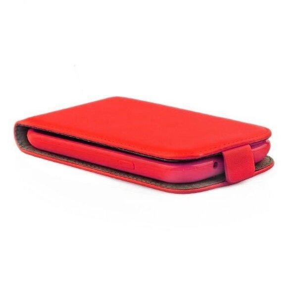 Telone Flexi Slim Flip Sony D6603 Xperia Z3 вертикальная книжка-чехол в силиконовом корпусе Красный цена и информация | Mobiili ümbrised, kaaned | kaup24.ee