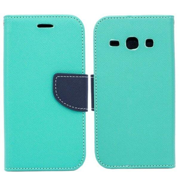Telone Fancy Diary Book Case LG G3 Mini D722 Чехол-книжка со стендом Светло Синий/Синий