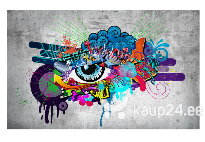 Fototapeet - Graffiti eye