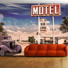 Fototapeet - Old motel