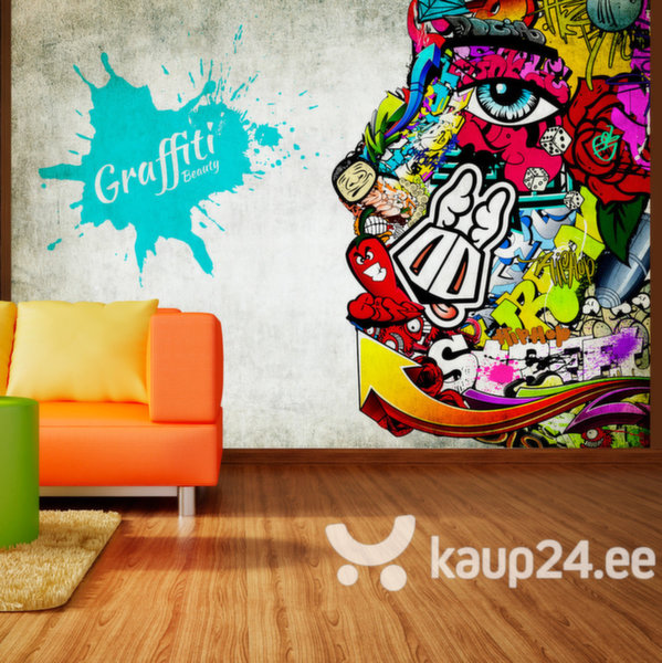 Fototapeet - Graffiti beauty