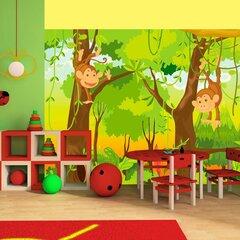Fototapeet - jungle - monkeys
