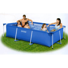 Бассейн с рамой Intex Family size (220 x 150 x 60 см)