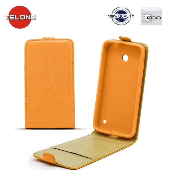 Telone Shine Pocket Slim Flip Case HTC Desire 310 вертикальный Чехол-книжка Оранжевый цена и информация | Mobiili ümbrised, kaaned | kaup24.ee