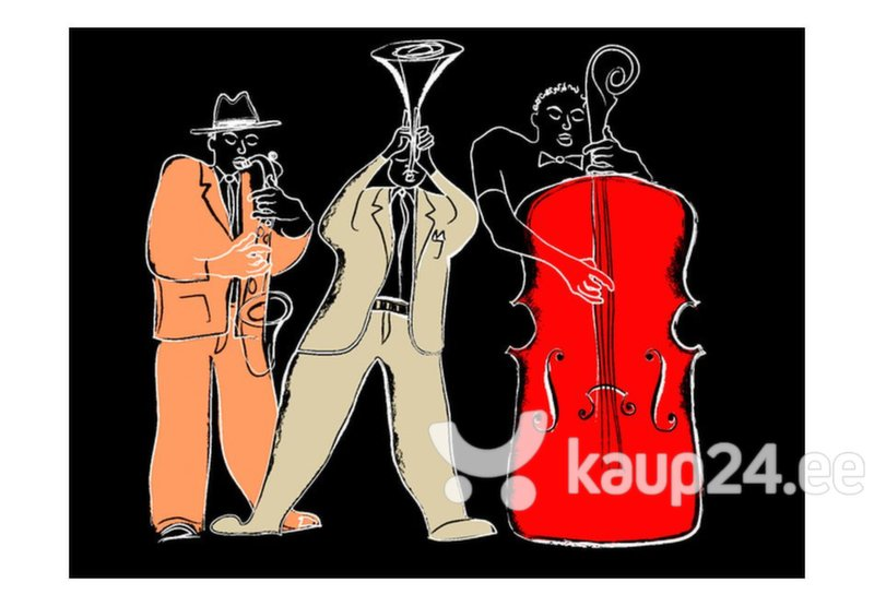 Fototapeet - musical instruments (jazz)
