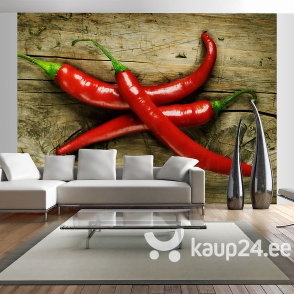 Fototapeet - Spicy chili peppers
