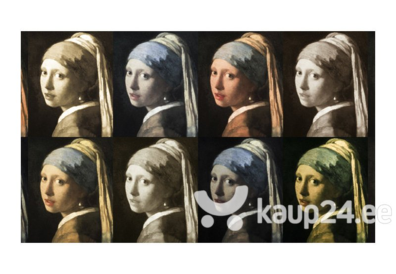 Fototapeet - Girl with a pearl earring (Pop art) tagasiside