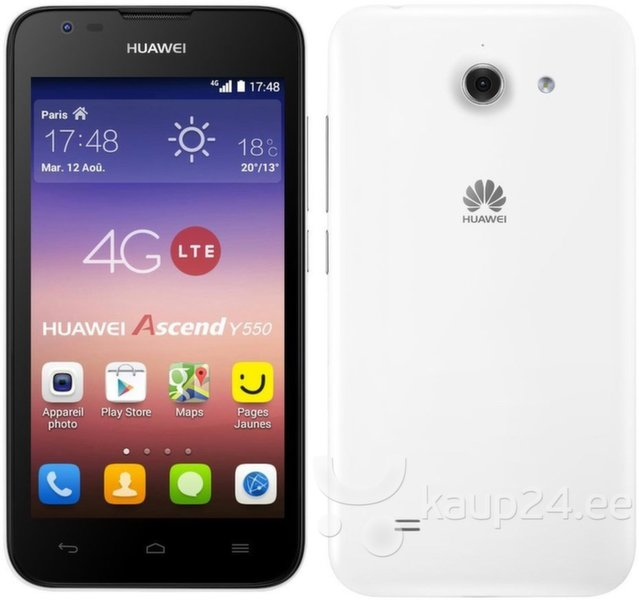 Huawei Ascend Y550 White (Белый) цена и информация | Mobiiltelefonid | kaup24.ee