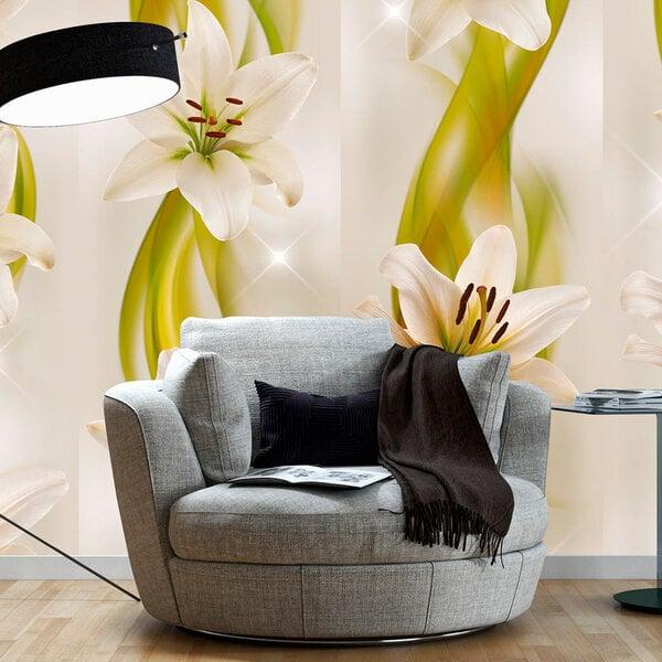 Fototapeet - Lilies avant-garde