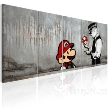 Maal - Mario Bros on Concrete