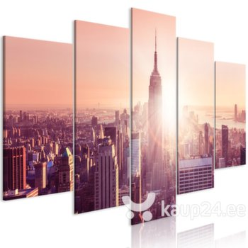 Maal - Sun over Manhattan (5 Parts) Wide Orange