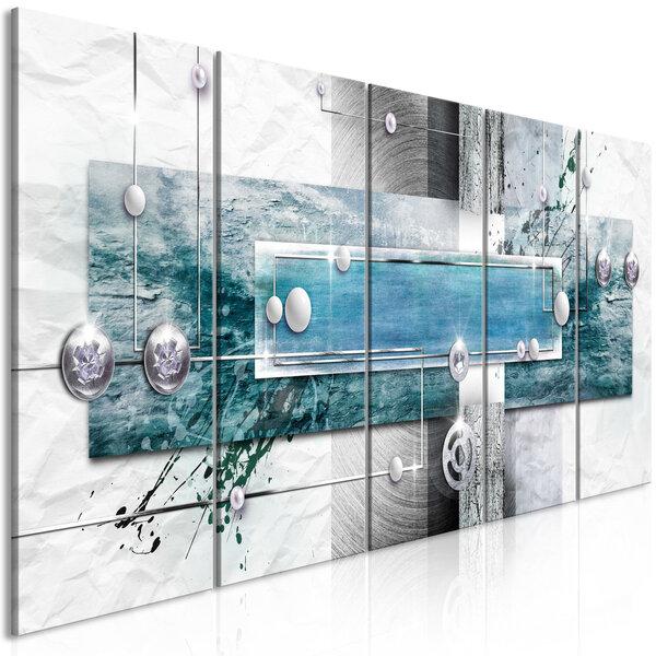 Maal - Mysterious Mechanism (5 Parts) Narrow Blue