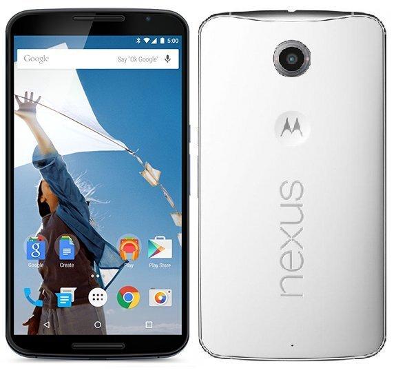 Motorola Nexus 6 32GB Valge