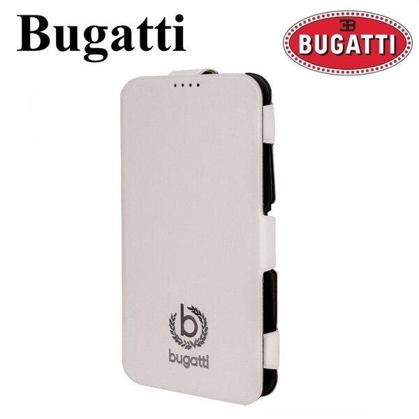 Bugatti Geneva BUGVFCG900WH Супер тонкий вертикальный Чехол-Книжка Samsung G900 Galaxy S5 Белый (EU Blister) цена и информация | Mobiili ümbrised, kaaned | kaup24.ee