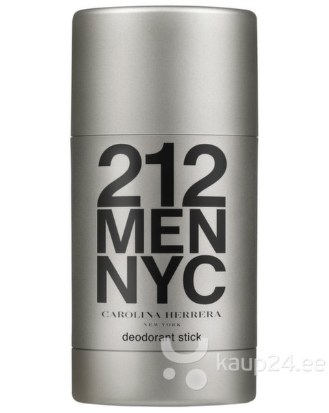Pulkdeodorant Carolina Herrera 212 Men meestele 75 ml цена и информация | Lõhnastatud kosmeetika meestele | kaup24.ee