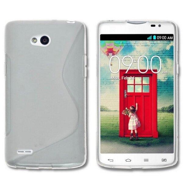 Telone Back Case S-CASE  резиновый чехол для мобильного телефона LG D405 L90, Прозрачный цена и информация | Mobiili ümbrised, kaaned | kaup24.ee