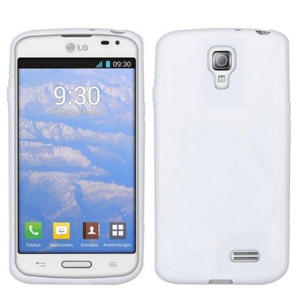 Telone Back Case S-Case силиконовый чехол LG D315 Optimus F70 Прозрачный цена и информация | Mobiili ümbrised, kaaned | kaup24.ee